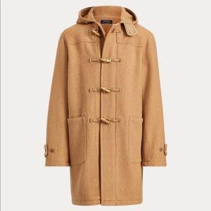 Vintage Polo Ralph Lauren Twill Hooded Duffle Coat